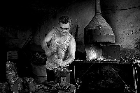 Blacksmith from Bashaid, by Goran