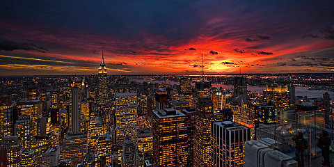 Manhattan Lights, by Neil Shapiro