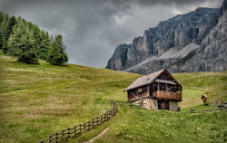 Chalet in The Dolomites, Italy