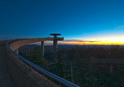 Clingman's Dome at Dawn, by Jeffrey S. Rease