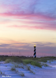 Hatteras at Sunset