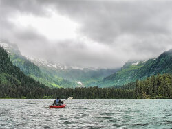 Kayaking to the Clouds