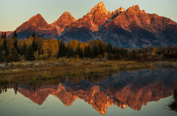 Schwabacher Landing Sunrise, Grand Teton NP, WY