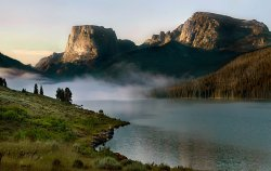 Square Top Wind River Range Mist