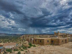 Storm Approaches Acoma