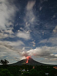 Mt Mayon Night Eruption