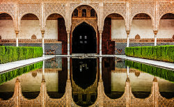 Reflection at the Alhambra